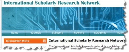 International Scholarly Research Network