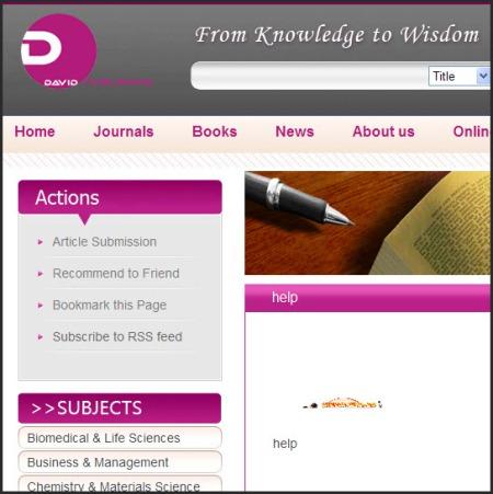 David Publishers
