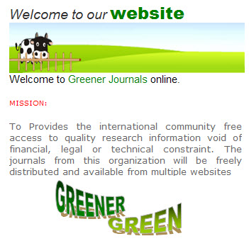Greener Journals