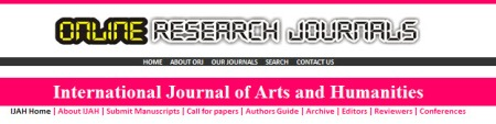 Part of a web page belonging to Open Research Journals.