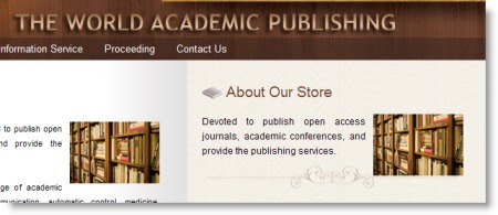 The World Academic Publishing