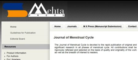 Journal of Menstrual Cycle