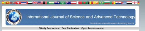 International Journal of Science and Advanced Technology (Logo)