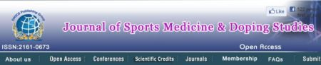 Journal of Sports Medicine & Doping Studies (JSMDS)