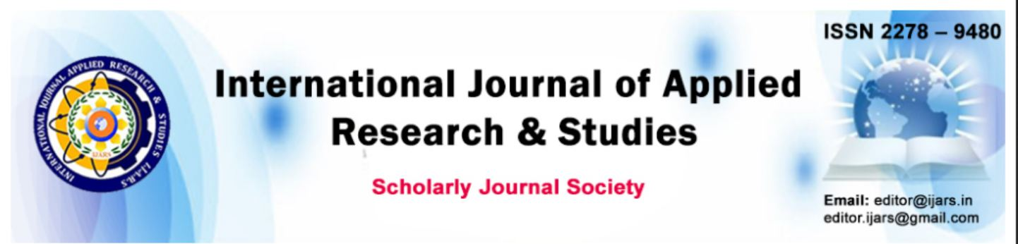 International Journal of Applied Research & Studies (iJARS)