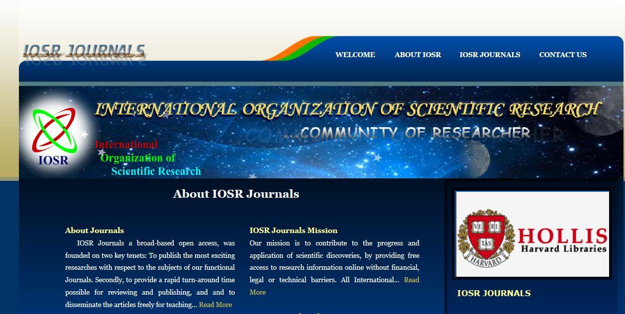 IOSR Journals