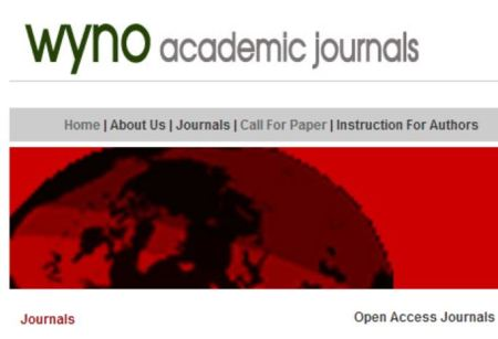 WYNO Academic Journals