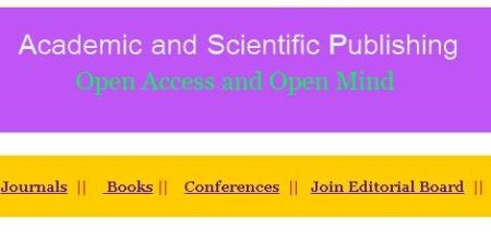 Academic and Scientific Publishing