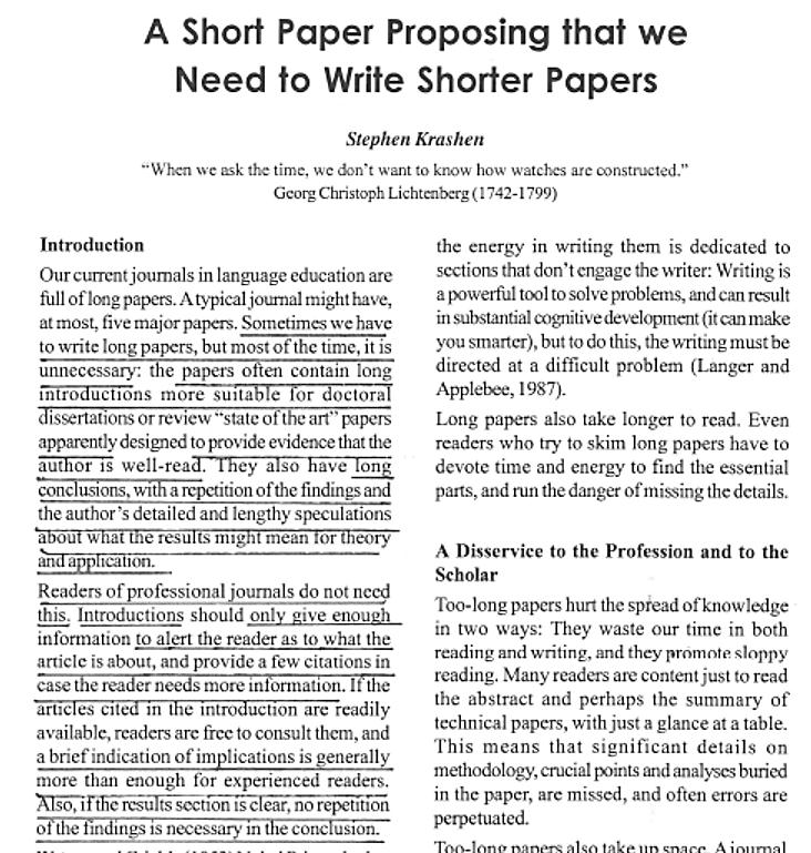 articles on writing research papers References 1 chung kc, shauver mj  fundamental principles of writing a  successful grant proposalj hand surg am 200833:566–572.