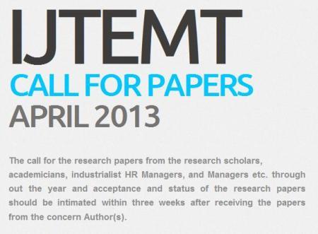 International Journal of Trends in Economics Management and Technology (IJTEMT)
