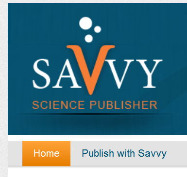 Savvy Science Publishers.