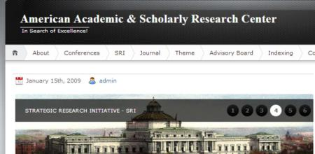 American Academic & Scholarly Research Center (AASRC)