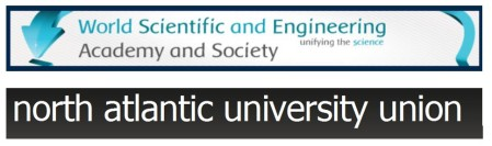 WSEAS = World Scientific and Engineering Academy and Society  NAUN = North Atlantic University Union