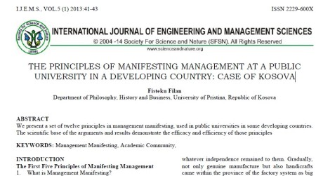 International Journal of Engineering and Management Sciences 2