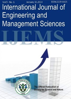 International Journal of Engineering and Management Sciences