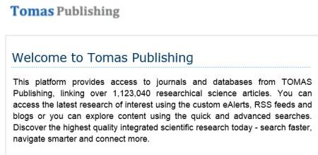 Tomas Publishing