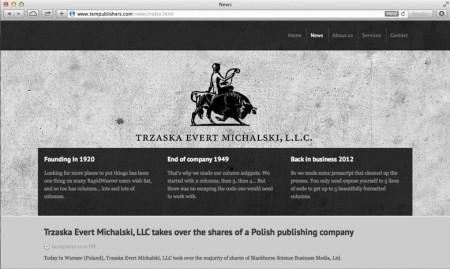 Amateurish website.