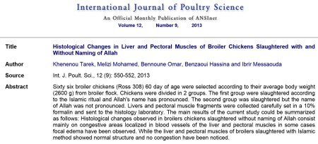 International Journal of Poultry Sciences
