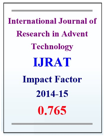 International Journal of Research in Advent Technology