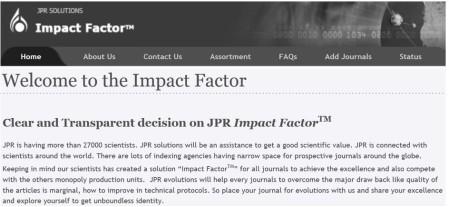 JPR Solutions Impact Factor