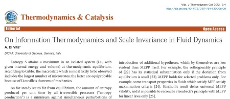 OMICS Publishing Group's Journal of Thermodynamics & Catalysis.
