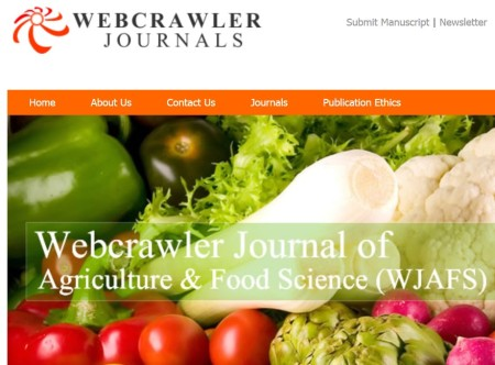 Webcrawler Journals