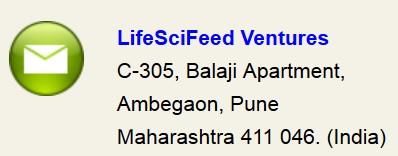 LifeSciFeed Ventures contact us information