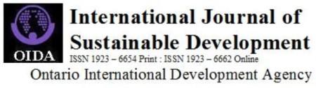 OIDA International Journal of Sustainable Development