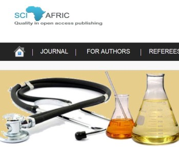 Sci-Afric Journal of Scientific Issues, Research and Essays