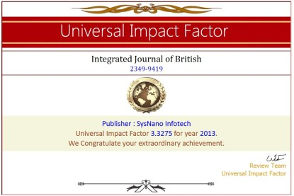 Integrated Journal of British 3
