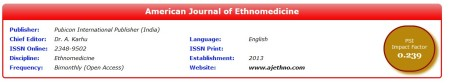American Journal of Ethnomedicine