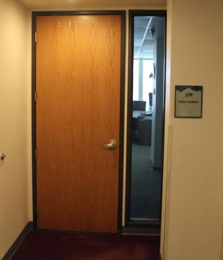 Clute Institute door