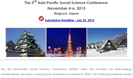 3rd Asia-Pacific Social Science Conference