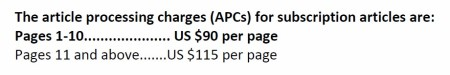 article processing charges