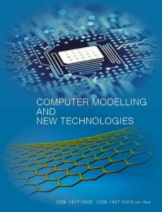 Computer Modelling and New Technologies