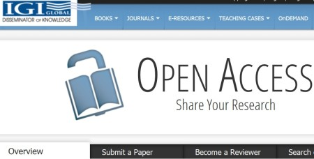 IGI Global Open access OA