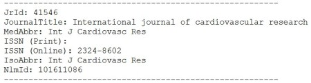 The journal somehow managed to get included in PubMed: