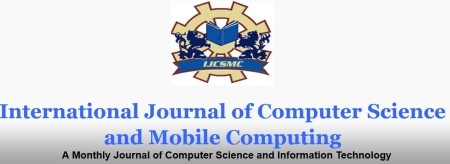 International Journal of Computer Science and Mobile Computing