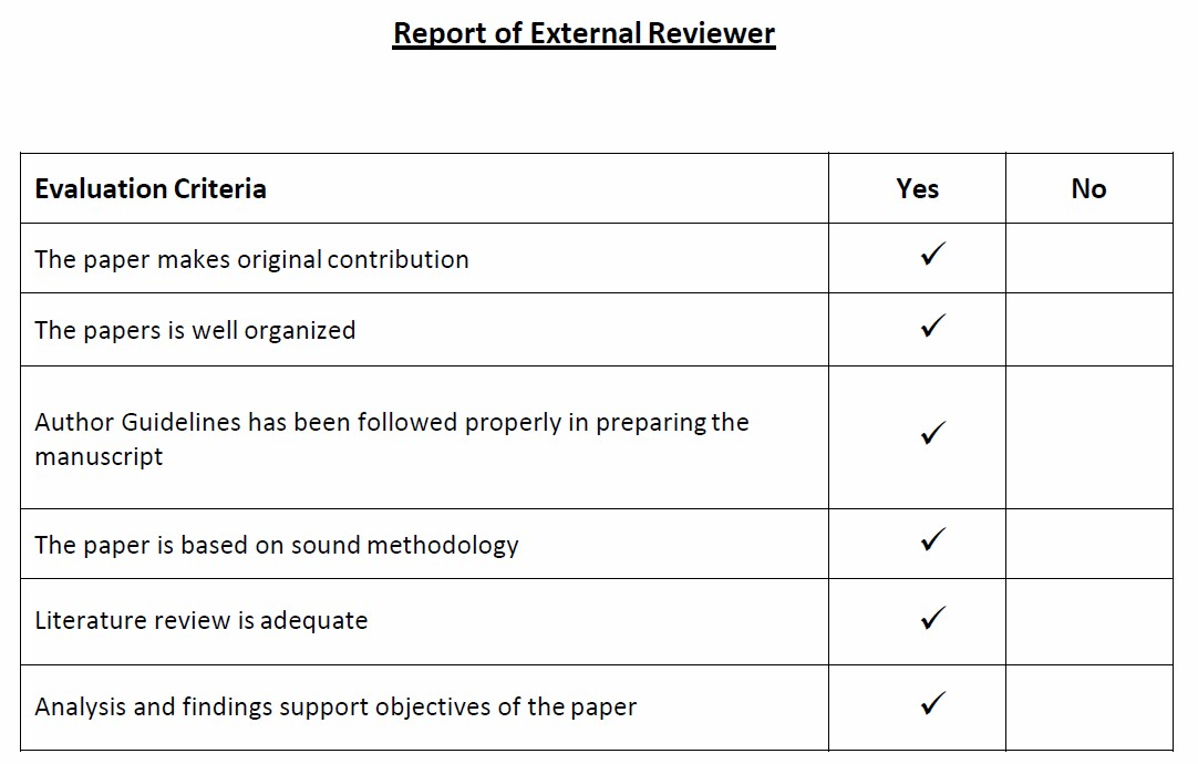 How to write a peer review paper