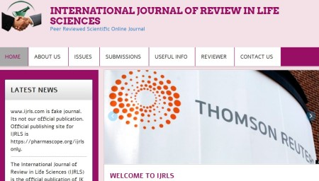 International Journal of Review in Life Sciences