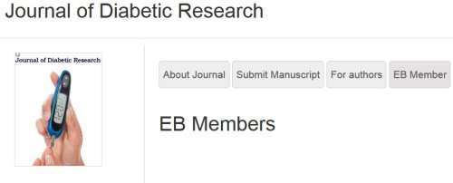 Journal of Diabetic Research