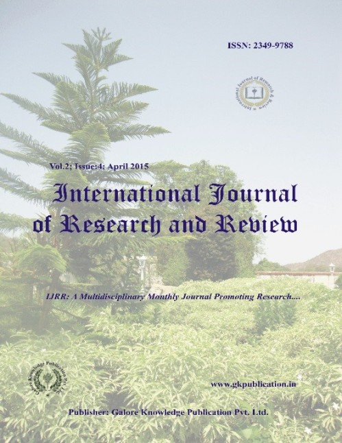 International Journal of Research and Review