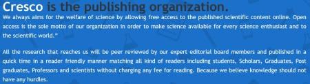 Cresco is the publishing organization