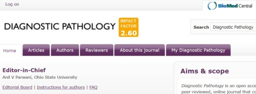 The BioMed Central journal, with its strong impact factor.