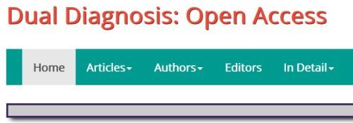 Dual Diagnosis Open Access