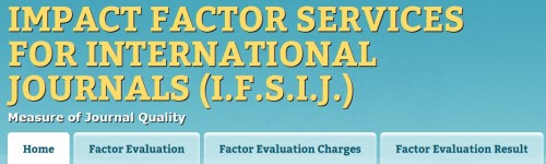Impact Factor Services for International Journals