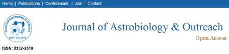 Journal of Astrobiology & Outreach