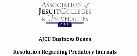 AJCU Business Deans