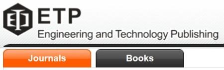 Engineering and Technology Publishing logo