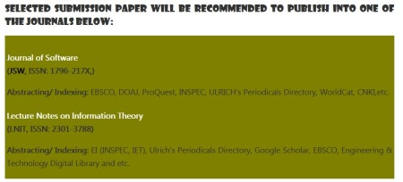 Selected submission paper